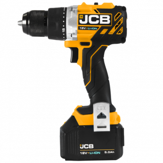JCB Brushless Drill Driver side elevation