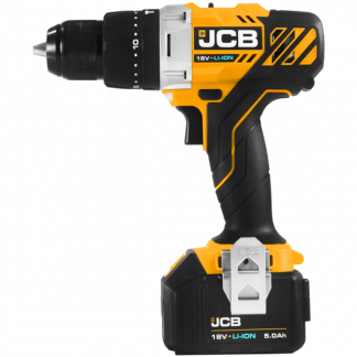JCB 18v Combi Drill side elevation