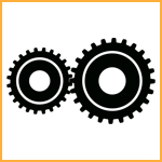 JCB 2-speed gearbox icon