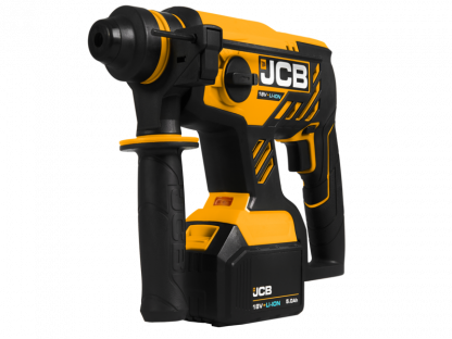 JCB-18BLRH angled elevation