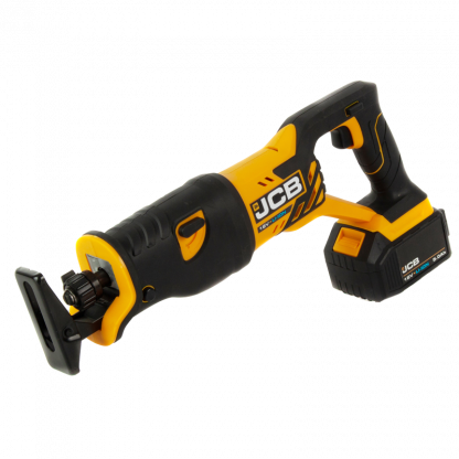 JCB 18v Reciprocating Saw angled elevation