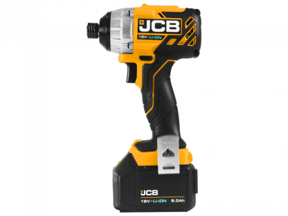 JCB Brushless Impact Driver side elevation