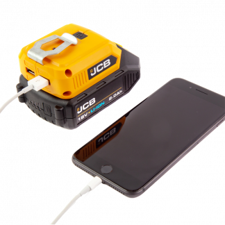 JCB 18v USB Adaptor charging from phone