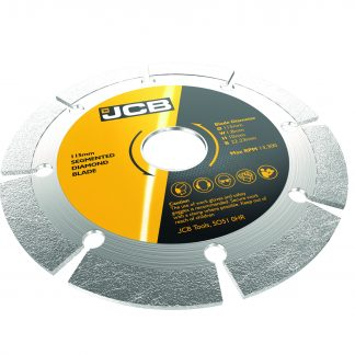 JCB Diamond Blades angled elevation