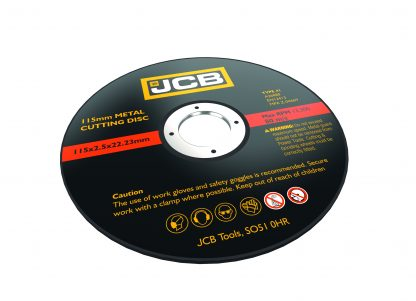 JCB Cutting and Grinding Discs angled elevation