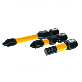 JCB Impact Bits angled elevation