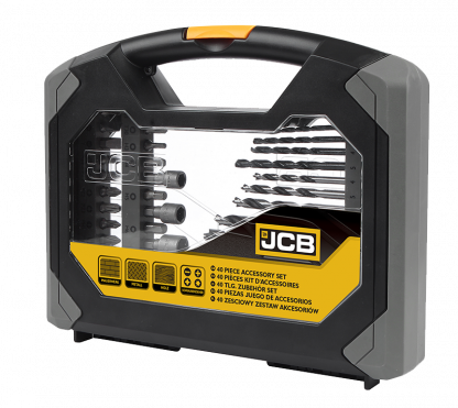 JCB 40 Piece Combination Set packaging