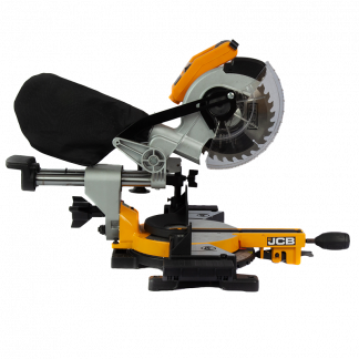 18v Brushless Mitre Saw side elevation