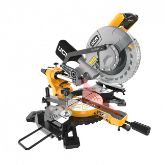 Sliding Bevel Mitre Saw side view